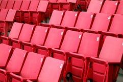 Sedi 2 di colore rosso Immagini Stock Libere da Diritti