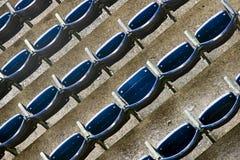Sedi ad uno stadio Fotografia Stock Libera da Diritti
