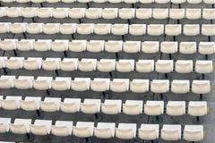 Sedi bianche Fotografie Stock