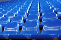 Sedi blu Fotografie Stock Libere da Diritti