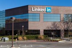 Sedi corporative di LinkedIn Immagine Stock Libera da Diritti