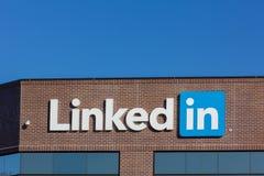 Sedi corporative di LinkedIn Fotografie Stock Libere da Diritti