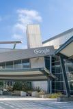 Sedi corporative e logo di Google Immagine Stock Libera da Diritti