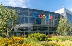 Sedi corporative e logo di Google Immagine Stock
