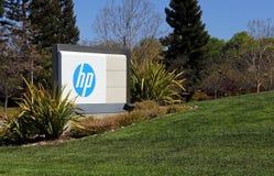 Sedi del mondo di HP Fotografie Stock