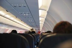 Sedi dell'aeroplano Fotografia Stock