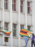 Sedi della m. d Partito di C a Harare, Zimbabwe Fotografia Stock Libera da Diritti
