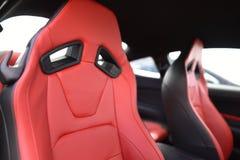 Sedi di automobile di Ford Mustang 2018 Fotografia Stock Libera da Diritti