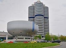 Sedi di BMW a Monaco di Baviera fotografie stock