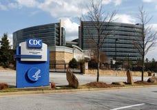 Sedi di centri per il controllo e la prevenzione delle malattie immagini stock libere da diritti