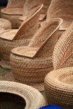 Sedi di giardino di bambù Immagine Stock Libera da Diritti