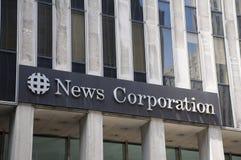 Sedi di News Corp. fotografia stock