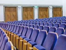 Sedi di spettatori Fotografie Stock