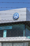 Sedi di Volkswagen, Barcellona Immagini Stock