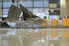 Sedi nell'aeroporto Fotografia Stock Libera da Diritti