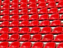 Sedi rosse normali Fotografia Stock Libera da Diritti