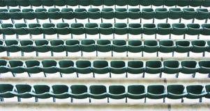 Sedi in uno stadio immagini stock libere da diritti