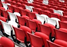 Sedi in uno stadio Fotografia Stock Libera da Diritti