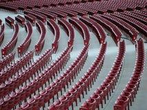Sedi vuote dello stadio Fotografia Stock