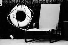Sedia allo stagno Fotografia Stock Libera da Diritti