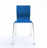 Sedia blu Fotografia Stock Libera da Diritti