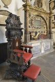 Sedia cerimoniale del Master delle sonerie immagine stock libera da diritti