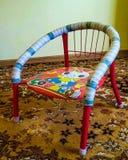 Sedia dei bambini Fotografie Stock Libere da Diritti