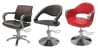 Sedia del parrucchiere del salone di bellezza Immagine Stock Libera da Diritti