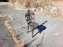 sedia della ruggine fotografia stock libera da diritti