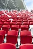 Sedia dello stadio Fotografia Stock Libera da Diritti