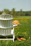Sedia di Adirondack Fotografie Stock