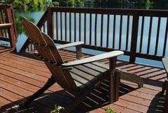 Sedia di Adirondack Fotografia Stock