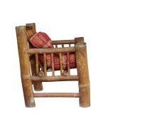 Sedia di bambù Fotografia Stock