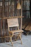 Sedia di legno Immagine Stock