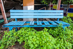 Sedia di legno che era rotta Fotografie Stock Libere da Diritti