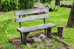 Sedia di legno d'annata Immagine Stock Libera da Diritti
