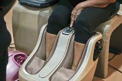 Sedia di massaggio Fotografia Stock