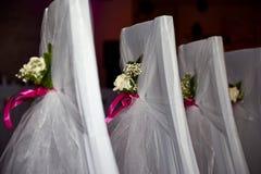 Sedia di nozze Immagine Stock Libera da Diritti