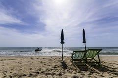 Sedia di spiaggia Immagine Stock Libera da Diritti