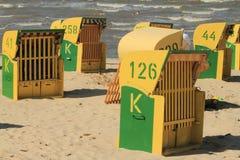 Sedia di spiaggia Fotografia Stock