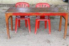 Sedia e Tabella immagine stock