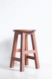 Sedia fatta di legno Fotografia Stock Libera da Diritti