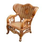 Sedia isolata su bianco Fotografia Stock Libera da Diritti