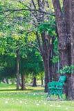 Sedia in parco Fotografia Stock