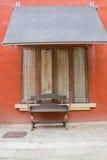 Sedia pubblica per il turista. Immagini Stock Libere da Diritti