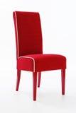 Sedia rossa Fotografia Stock Libera da Diritti