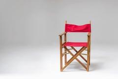 Sedia rossa Immagine Stock Libera da Diritti