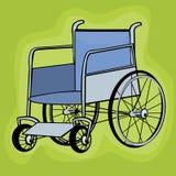 Persona sulla sedia a rotelle immagine stock immagine for Sedia a rotelle ruote piccole