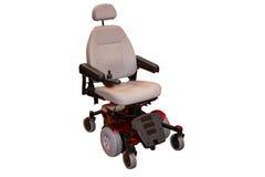 Sedia a rotelle elettrica. Fotografia Stock