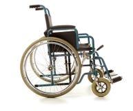 Sedia a rotelle isolata Fotografia Stock